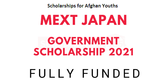Mext Japan government scholarships 2021