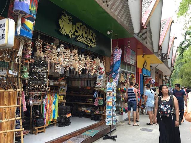 Boracay market
