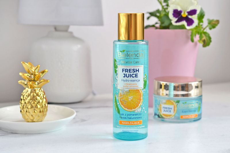 hydro esencja bielenda, kosmetyki fresh juice, hydro esencja, esencja do twarzy