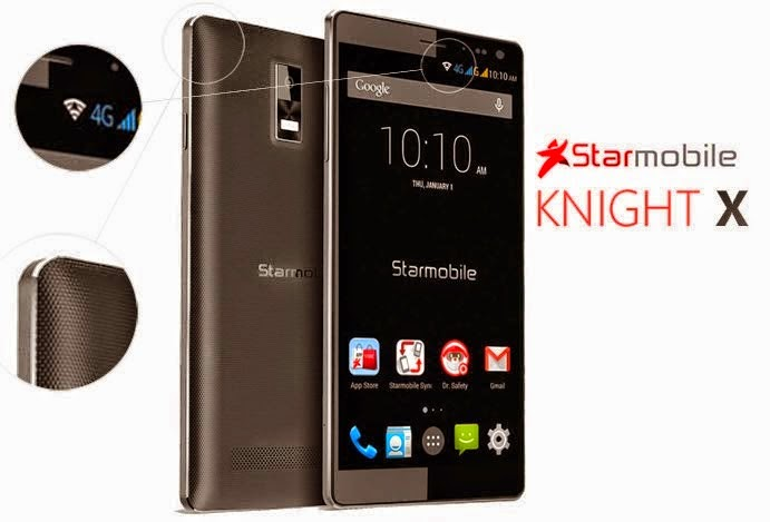 Starmobile Knight X Specs Review: Fastest local smartphone to date