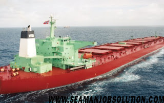 Need Electrical Engineer For Bulk Carrier Vessel