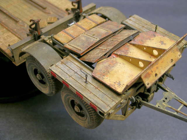 Panzer- Tool's Diorama's And AFV's: Sd.ah.116 Trailer