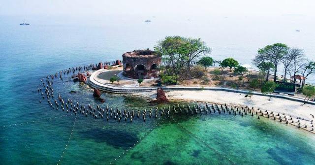 Pulau Bidadari - Objek Sejarah Di Kepulauan Seribu