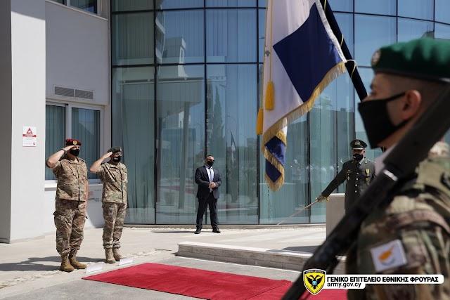 Επίσημη Επίσκεψη Αρχηγού ΕΔ Λιβάνου στην Κύπρο (ΦΩΤΟ)