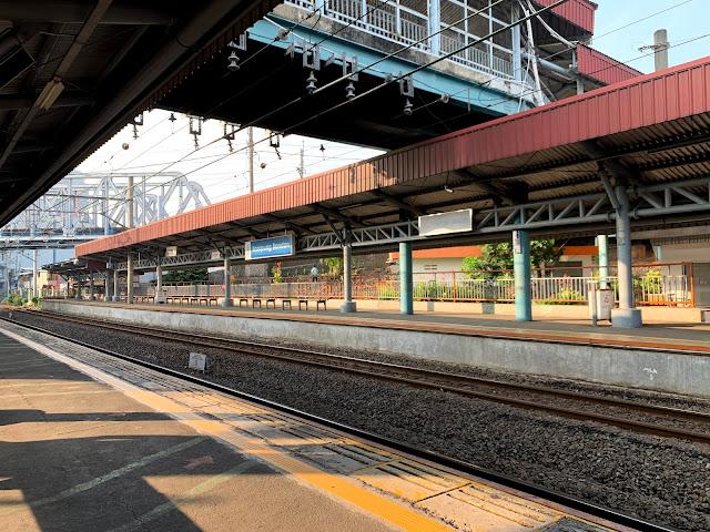 Stasiun Kereta KRL Kampung Bandan