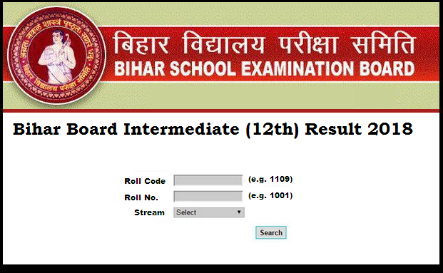 Bihar Board class 12 result Declared Today