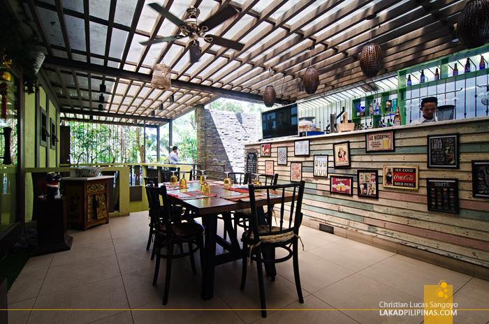 Cafe Voi La Tagaytay Al Fresco Area