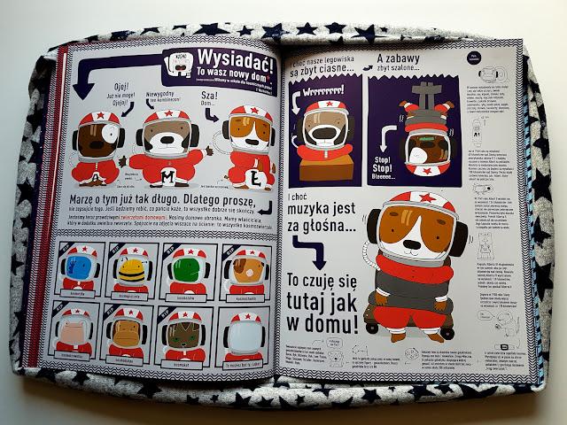 Łajka kosmiczny pies - Kim Crabeels - Emma Thyssen - Kapitan Nauka - książeczki dla dzieci