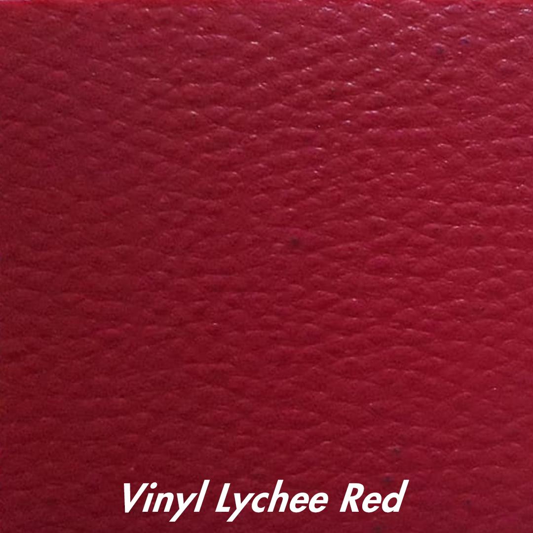 vinyl liechee red