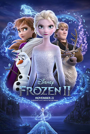 Poster Of Frozen 2 In Dual Audio Hindi English 300MB Compressed Small Size Pc Movie Free Download Only At worldfree4u.com