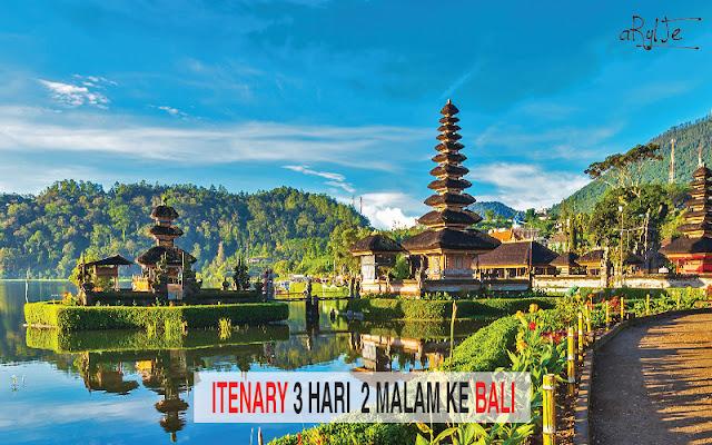 Pengalaman Solo Trip 3H2M Ke Bali