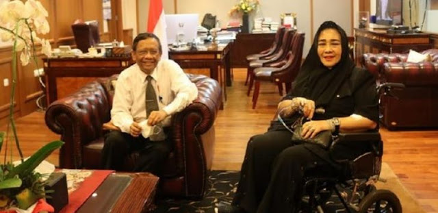 Mahfud MD Didatangi Rachmawati Khusus Bahas Demo, Ini Daftar 'Sepakatnya'