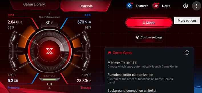 Asus ROG Phoen 3 X Mode