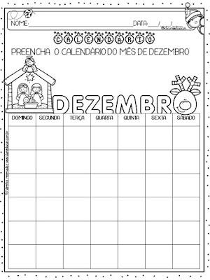 calendários, Natal, Atividades de Matemática, Medidas de tempo, BNCC, Atividades para 2º ano,