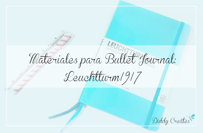 materiales libreta bullet journal leuchtturm1917