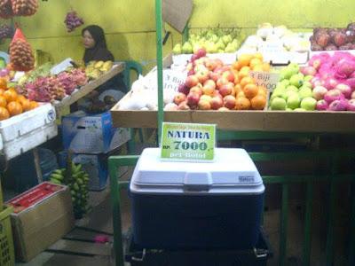 Usaha Toko buah di Pinggir jalan atau Jualan di Mobil