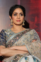 Sri Devi in designer saree stunning beauty at the launch of MOM movie Trailer~  Exclusive 047.JPG