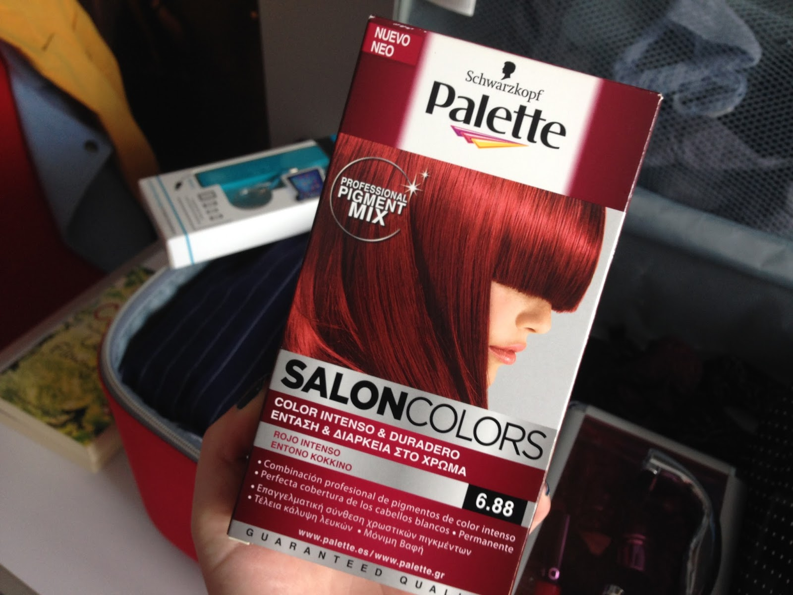 Avis de coloration des cheveux