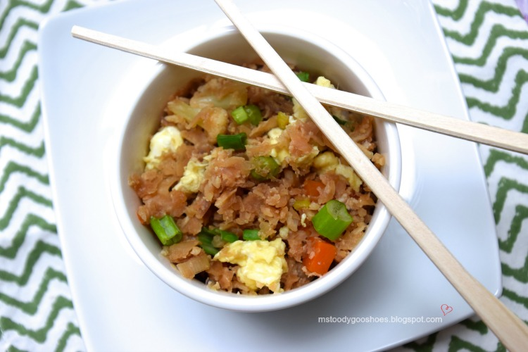 Cauliflower Fried Rice | Ms. Toody Goo Shoes