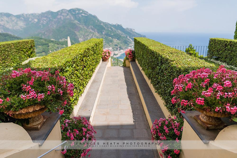 Hotel Caruso gardens