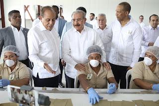 En Navarrete, Danilo Medina participa en inicio de operaciones parque zona franca EMIMAR cuya inversión supera los 400 millones de pesos