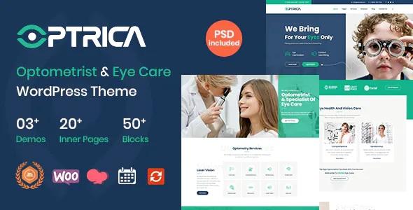 Best Optometrist and Eye Care WordPress Theme