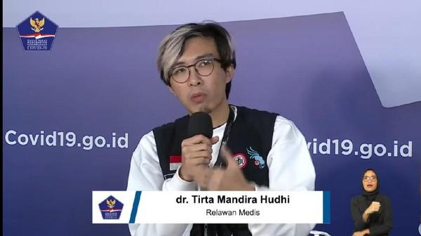 dr Tirta Adukan Masalah Raffi Ahmad ke Kasatgas COVID-19