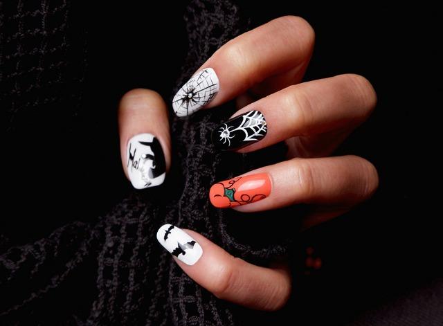 Halloween_Nails_Manicura_ObeBlog_Orly
