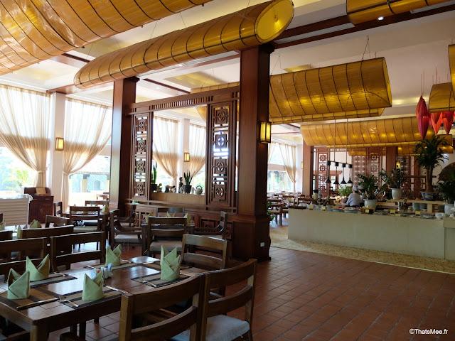 hotel emeralda reserve van long van gien vietnam resto petit-dej