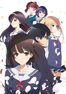 "La segunda temporada anime de ""Saekano"" ya tiene nueva imagen promocional."