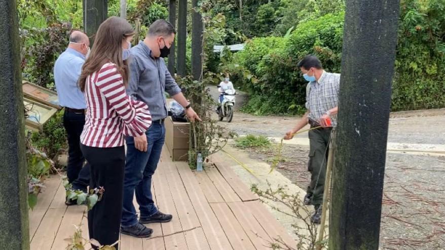 Miradores turísticos en la Serranía Alto del Nudo serán arreglados por el contratista que ejecutó las obras