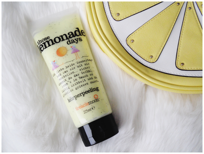 beauty | treaclemoon | those lemonade days body scrub | more details on my blog http://junegold.blogspot.de | life & style diary from hamburg | #beauty #treaclemoon #thoselemonadedays #bodyscrub #körperpeeling