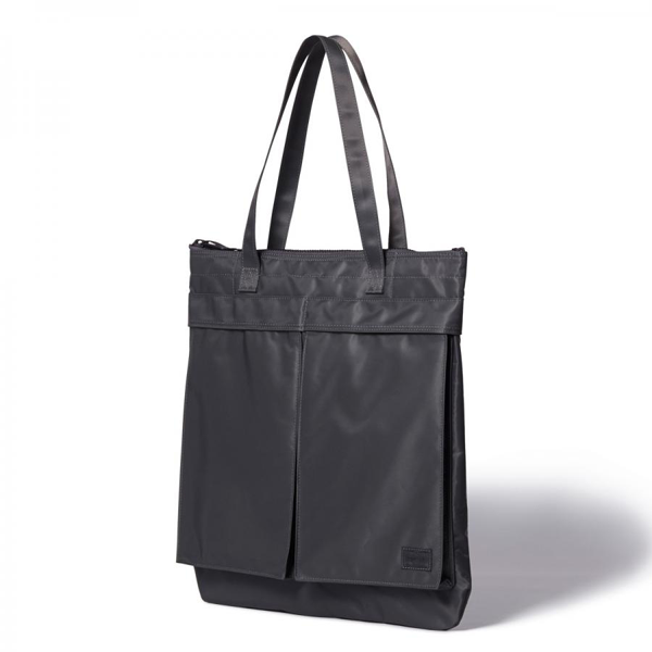 cb78e805cdb4 Head Porter Spirit Helmet Tote Bag. Available in Grey and Olive. HP-4216.  Perfect for daytime activities