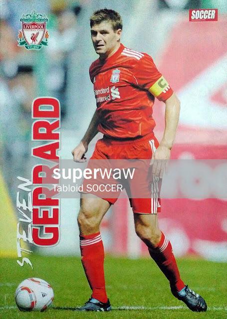 Steven Gerrard Liverpool 2010