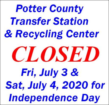 7-3/4 PC Transfer & Recycling Closed