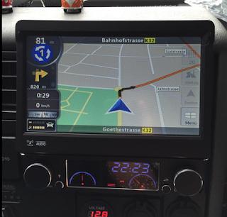 WinCE 6.0 Car GPS DVD Player 1 Din