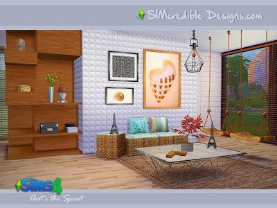 Мастерская художника — мебель и декор для Sims 4 со ссылкой для скачивания
