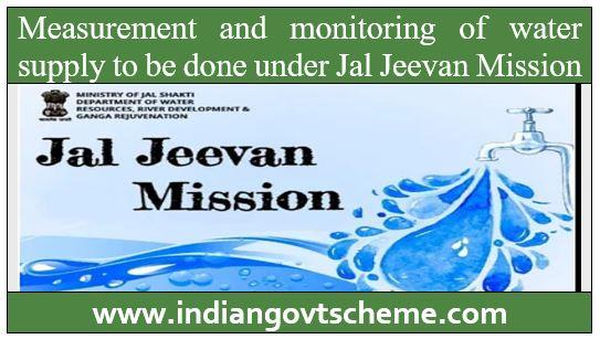 monitoring of water supply