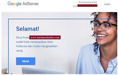 cara cepat monetisasi adsense blog