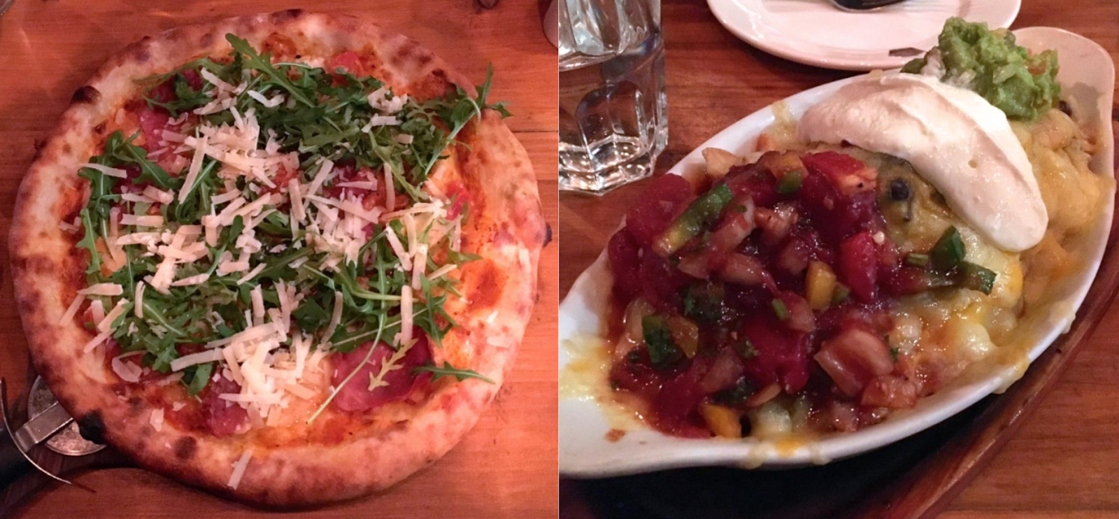 Pizza and Nachos in Dublin - Luigi Malones, Temple Bar