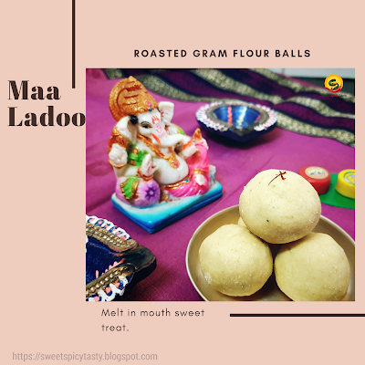 Jaggery Maa ladoo can be prepared in just 15 mins and there is no extensive labor,vellam pota maa ladoo , jaggery maaladdu , vellam ladoo , vellam laddu, jaggery laddu , roasted gram ladoo , dryfruit ladoo with jaggery , jaggery dry fruits ladoo