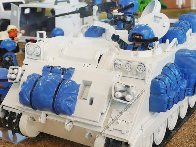 Diorama Playmobil ONU