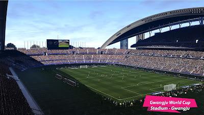 PES 2021 Gwangju World Cup Stadium