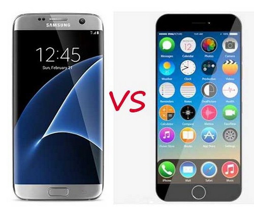 Perbandingan spesifikasi Samsung Galaxy S7 Edge Vs iPhone 7 Plus