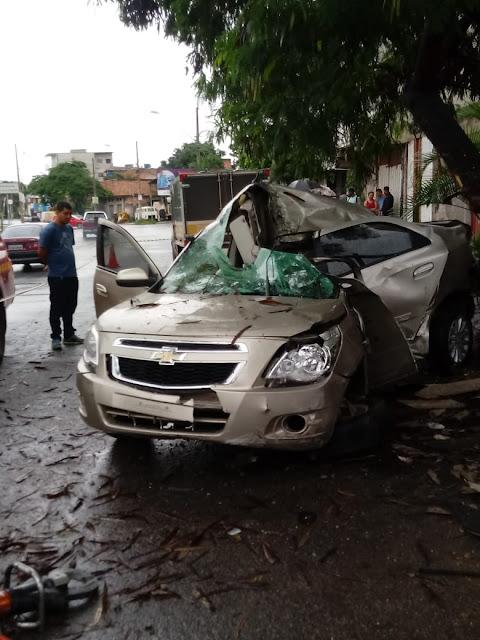 Perseguição a carro roubado termina em Morte em BH