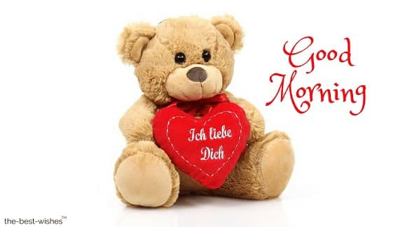 i love you in german with teddy