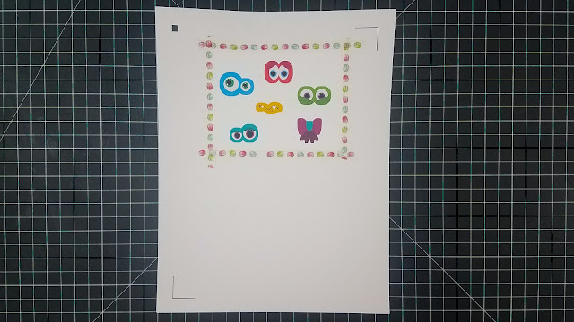 silhouette cameo, Print and Cut, Printable vinyl, Printable adhesive vinyl, Kids crafts