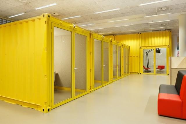 Коворкинг, кабинеты из контейнеров