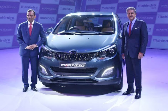 All New 2018 Mahindra Marazzo launching event