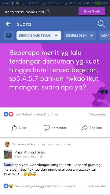 HEBOH! Suara Dentuman Keras Misterius Hingga Bikin Getar Rumah Warga di Daerah Siak - Pelalawan Riau www.hardikakurniawan.com